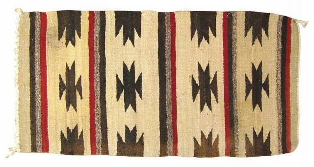 "Miscellaneous 2' 10"" X 1' 6"" Vintage American Navajo At"